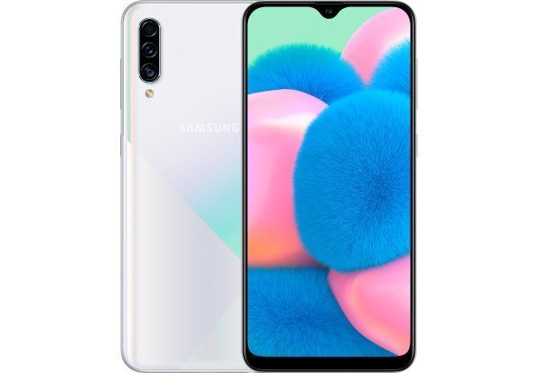Смартфон Samsung Galaxy A30s 32GB (белый)