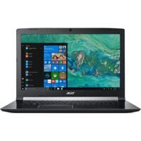 "Ноутбук Acer Aspire 7 A717-72G-58ZK NH.GXEER.009 i5 8300H/8Gb/1Tb/nVidia GeForce GTX 1060 6Gb/17.3""/FHD (1920x1080)/Windows 10 Home/black/WiFi/BT/Cam"