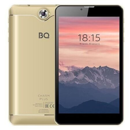 "Планшет BQ-7040G  Charm Plus золотистый 16Gb+3G/7"" IPS (1280x800)/SC7731E (4x1.3 GHz)/2Gb/2MP/A9.0/2800mAh"