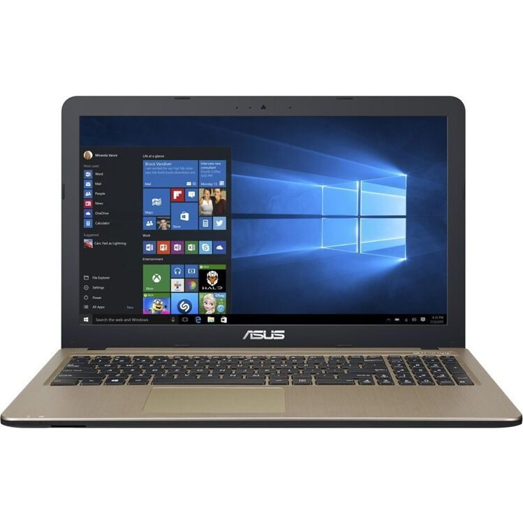 "Ноутбук ASUS X540NA 15.6"" HD/Cel N3350 (2х1.1 GHz)/4G/500G/HD Graphics/noOD/Endless OS/3cell/2.0kg/Black (X540NA-GQ005)"