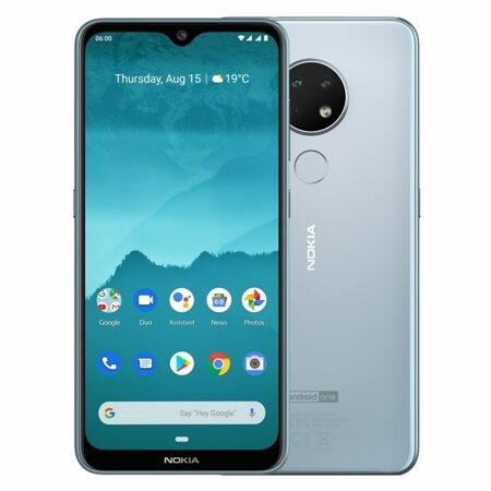 "Смартфон Nokia 6.2 DS Ice (TA-1198), 6,3"" IPS (2280x1080), SnapD 636 (8х1,8ГГц), LTE, NFC, 16+8+5 Мп/8 Мп, 3Gb/32 Gb, And9.0, 3500 мАч, fingerprint"