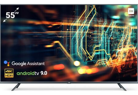 "55"" Телевизор Xiaomi Mi TV 4S 3840x2160 Ultra HD, 50 Гц, WI-FI, SMART TV, DVB-T, HDMI, USB"