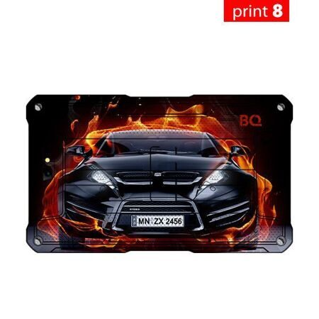 "Планшет BQ-7082G Armor Print8 8Gb+3G/7"" TN (1024x600)/SC7731C (4x1.0 GHz)/1Gb/0.3MP/A7.0/4100mAh"