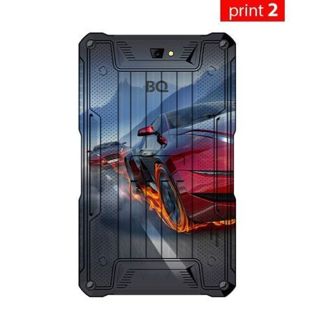 "Планшет BQ-7082G Armor Print2 8Gb+3G/7"" TN (1024x600)/SC7731C (4x1.0 GHz)/1Gb/0.3MP/A7.0/4100mAh"