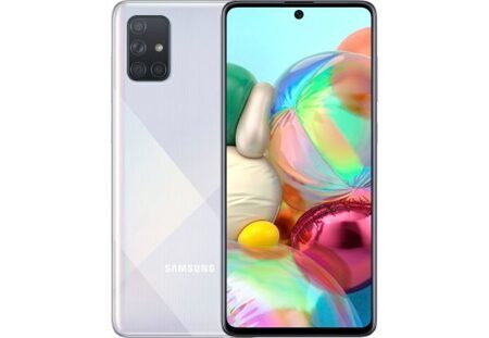 Смартфон Samsung Galaxy A71 6/128GB White